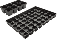 8 Hole Seed Growing Tray PS Seedling starter tray